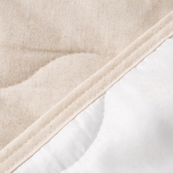 敷きパッド シングル(コットンリネン q S) ニトリ 【玄関先迄納品】 【1年保証】