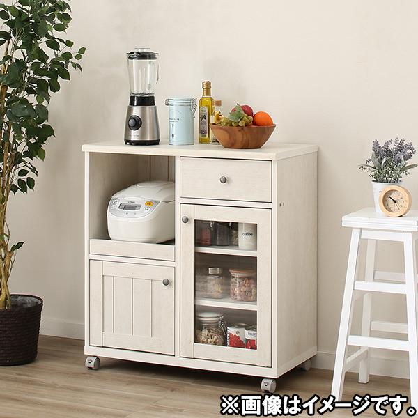 カウンターワゴン(リズバレーSLM8075S) ニトリ 【玄関先迄納品】 【1年保証】