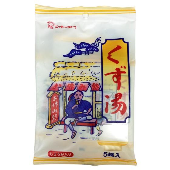 特売 くず くず湯 品質保証 本葛 葛湯 生姜のほど良い風味がくず湯の美味しさを引き立てる 15g×5袋 粉末タイプ ニットーリレー しょうが 生姜 ショウガ