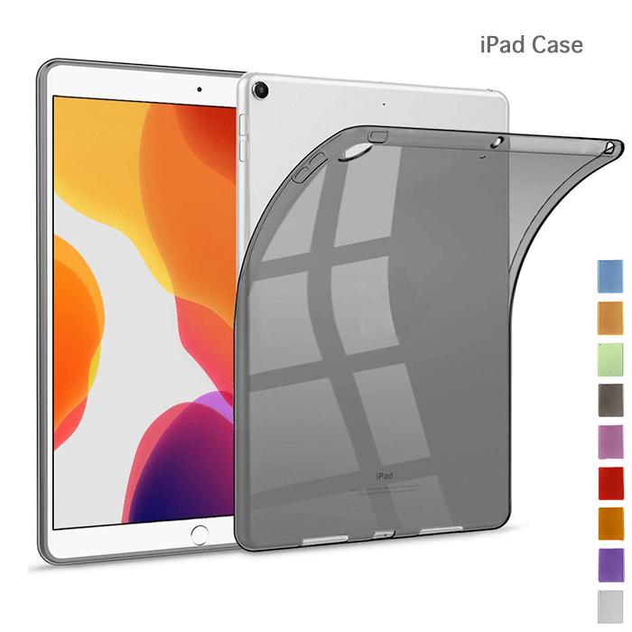 特価商品 訳あり iPad 10.2 2020 2019 薄型軽量 TPU ソフトケース iPad10.2 ケース 第8世代 第7世代 シンプル 透明 定番 耐衝撃 クリア アイパッド10.2 スリム タブレット 2019モデル 軽量 背面 カバー 秋モデル 10%OFF 1着でも送料無料