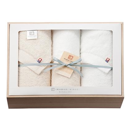 【代引不可】【送料無料】imabari towel(今治タオル)今治謹製 木箱入りオーガニックコットンタオルセット【内祝い 出産内祝い 入学内祝い 進学内祝い 結婚内祝い】【出産祝い お返し 返礼 お返しギフト】