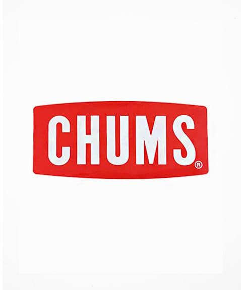 ネコポスOK チャムス 新作 正規品 CHUMS ステッカーチャムスロゴミディアム 未使用 可愛い 人気 8×18 CH62-1071