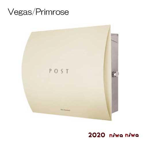 郵便ポスト:ドイツ製マックスノブロック・壁掛型ポスト・ベガス-プリムローズ[P-325]【あす楽対応不可】【全品送料無料】