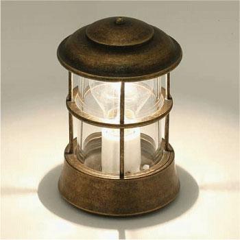 真鍮製ガーデンライト・BH1012 AN CL(普通球・クリアーガラスタイプ)700143[LD-543]【あす楽対応不可】【全品送料無料】