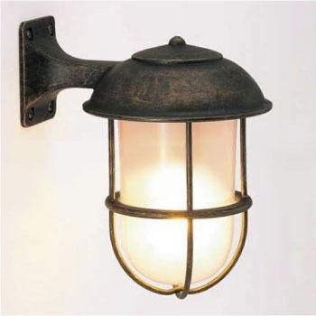 真鍮製ガーデンライトBR5000 AN FR LE(LED・くもりガラスタイプ)700233[LD-561]【あす楽対応不可】【全品送料無料】