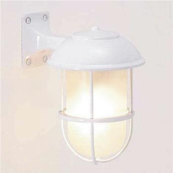 真鍮製ガーデンライトBR5000 WH FR LE(LED・くもりガラスタイプ)700234[LD-562]【あす楽対応不可】【全品送料無料】