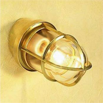 真鍮製ガーデンライトBH2297 CL(普通球・クリアーガラスタイプ)700198[L-572]【あす楽対応不可】【全品送料無料】