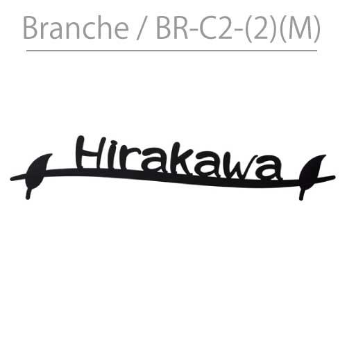 表札・丸三タカギ・ブランシュ:BR-C2-(2)(M)[N-550]ネームプレート【送料無料】