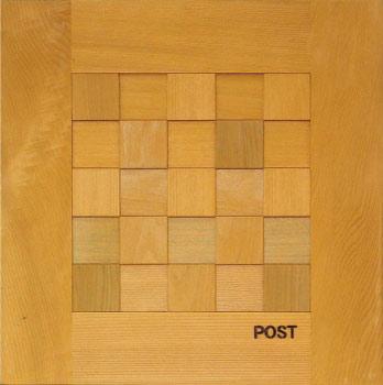 郵便ポスト:D-POST ディーポスト(埋め込み型)・マス格子204 [P-190]【あす楽対応不可】【全品送料無料】【20P30May15】【SSMay15_point20】