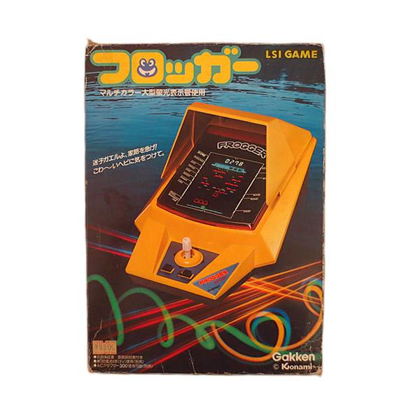 新品 LSI 電子ゲーム フロッガー 学研 1982 完品【新品】【虹商店】