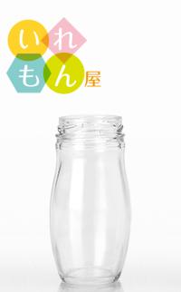 オシャレで可愛い設計です ジャム瓶 ふた付 1本入 HANA140ST 丸瓶 ガラス瓶 特売 割り引き 保存瓶 はちみつ容器 オシャレ スタイリッシュ 小さい おしゃれ かわいい 可愛い コンフィチュール かっこいい 蓋付