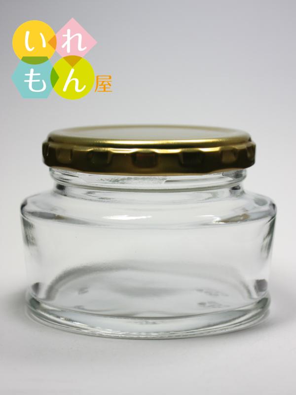 超目玉 オーバルデザイン ジャム瓶 ふた付 安売り 1本入 WMP-100 オーバル瓶 ガラス瓶 保存瓶 はちみつ容器 スタイリッシュ かわいい オシャレ かっこいい 小さい 高級感 おしゃれ 可愛い 蓋付
