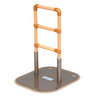 メーカー直送品【矢崎化工】立ち上がり補助具 たちあっぷ 1型 [CKA-01] 木目調手すり 介護用品 歩行支援 敬老 離床補助手すり