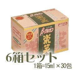 お取り寄せ商品 β-グルカン【楽笑】【6箱セット】 アガリクス 健康維持 免疫力 プレゼント 健康補助食品
