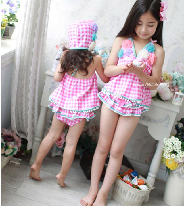 nlnsc | Rakuten Global Market: ☆ 80 ~ 155 cm floral 3-point cap set on