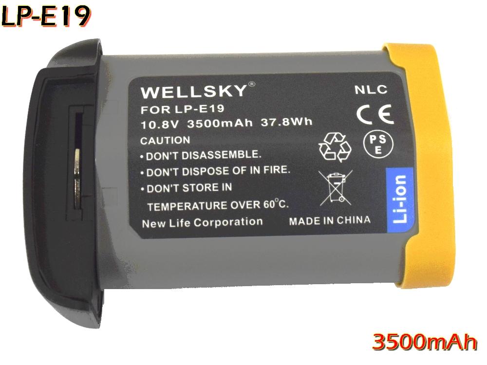 [ あす楽対応 ] Canon キヤノン LP-E4 LP-E4N LP-E19 互換バッテリー [ 純正 充電器 バッテリーチャージャー で充電可能 残量表示可能 純正品と同じよう使用可能 ] イオス EOS 1D Mark III EOS 1Ds Mark III EOS 1D Mark IV EOS 1D X EOS 1D C EOS 1D X Mark II