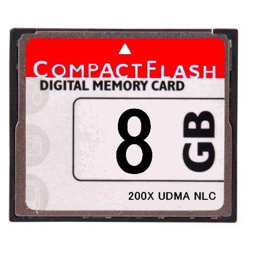 [  ] [ 東芝製チップ ] 採用オリジナルブランド Compact Flash CFカード コンパクトフラッシュ 8GB  200X 200倍速 UDMA対応