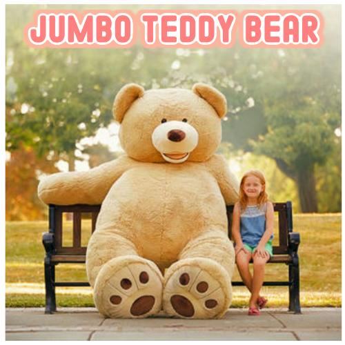超特大 くま ぬいぐるみ 2.36mジャンボ テディベア JUMBO TEDDY BEAR クマ ぬいぐるみ【smtb-ms】0999424