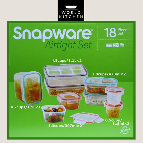 nnmart Rakuten Global Market World Kitchen storage containers 18