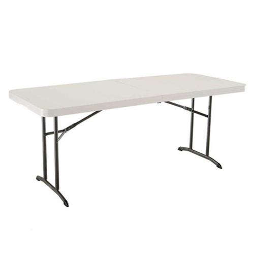 LIFETIME ライフタイム 折りたたみ式簡易テーブル 6人掛けライフタイムテーブル 折りたたみ式 6FOOT 183×76屋外使用可能 ピクニック キャンプ テーブル4560029
