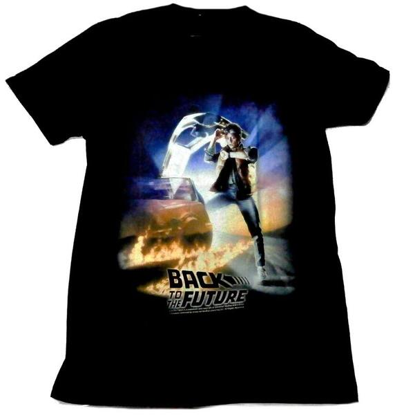 BAIT x Back to The Future Men BTTF Poster Tee Black