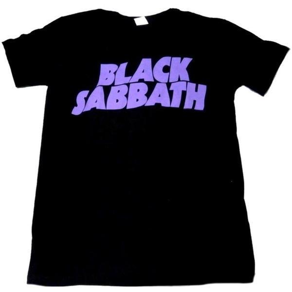 New Black Sabbath Cross Purposes Rock Band Logo On Unisex Black T Shirt S-2XL