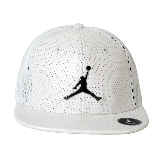 Nike ナイキ正規品ユース 子供サイズ ジョーダン帽子 キャップYouth Jordan All Net Snapback Cap Hat帽子ホワイト9A1769-001インポートブランド海外買い付け
