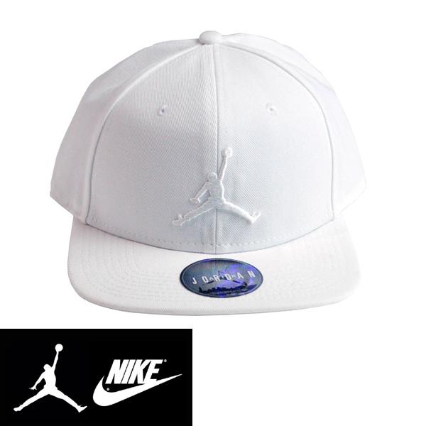 NIKEナイキ正規品エアージョーダン ジャンプマンCAP帽子キャップ AIR Jordon Jumpman Snapback ホワイトAJ8316-100インポートブランド海外買い付け