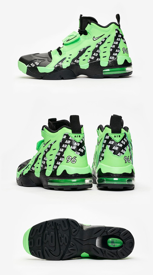 NIKE Nike regular article sneakers AIR DT MAX 96 SOA Nike air D tea max Rage Green AQ5100 300 United States buying import brand overseas buying