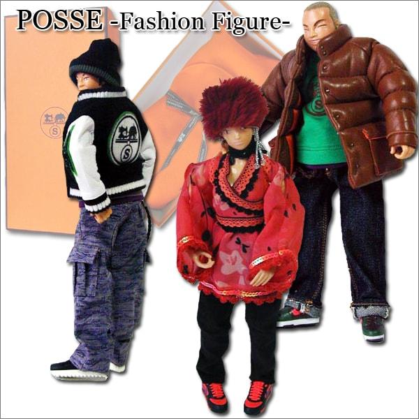 *POSSE FASHION FIGUR ファッション デザイナー フィギュア 3体 セット コレクター アイテム プレミア レア 限定 12インチ