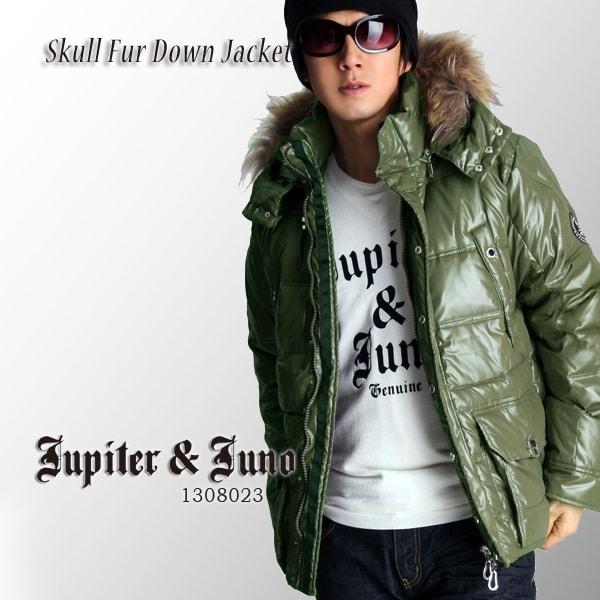 Jupiter&Juno(ジュピターアンドジュノ)Skull Fur Down Jacket(スカルファーダウンジャケット)