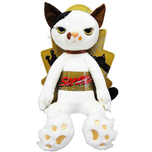 024762/内藤デザイン研究所 Scratch スクラッチ ヌイグルミ62cm XL【ミルク】猫/BIG/米田民穂