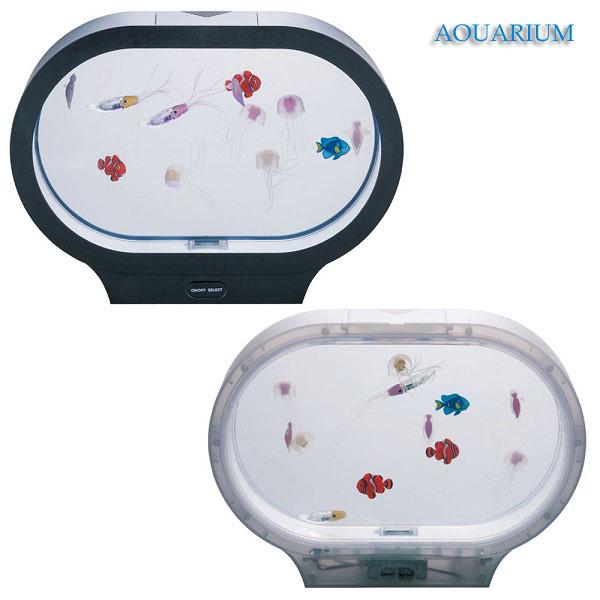 イシグロ 18156-57 AQUARIUM アクアリウム 海の仲間たち W31×H22.5×D7.7 インテリア LED 照明 癒し リラクゼーション【お取り寄せ商品】