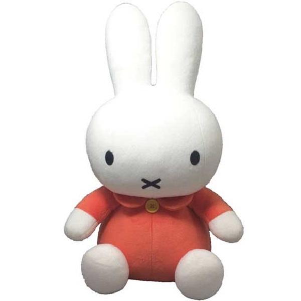 【お取り寄せ】667340/セキグチ[DICK BRUNA] miffy ミッフィー スタンダードぬいぐるみLサイズ 52cm (オレンジ)/ディックブルーナ/玩具/TOY/人形/子供/キッズ