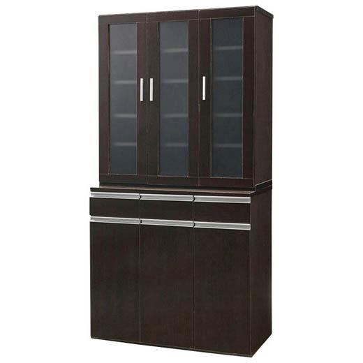 キッチンボード 食器棚 幅90 引き出し 収納 キッチン収納 しっかり収納ダイニングボードシリーズ ベルーナ ノアン インテリア