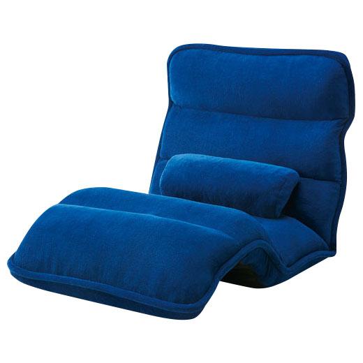 42段階省スペースギア全身もこもこ座椅子/ワイド約幅75cm/インテリア・寝具・収納/イス・チェア/座椅子 ノアン インテリア ベルーナ