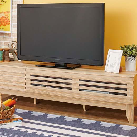 <新商品>スタイリッシュデザインテレビボード/幅150cm/インテリア・寝具・収納/収納家具/棚・シェルフ/ ベルーナ インテリア ノアン