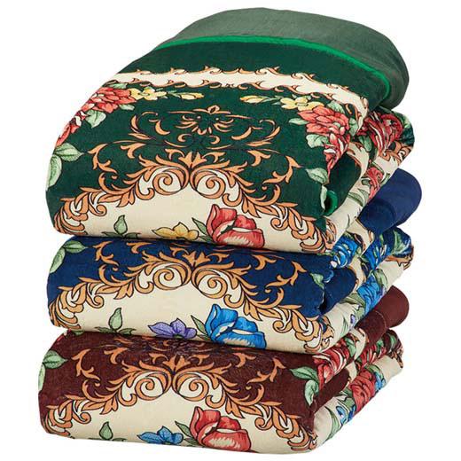 5つ星機能のプレミアムあったかわた入り毛布/シングル3色組/寝具/毛布 ベルーナ インテリア ノアン