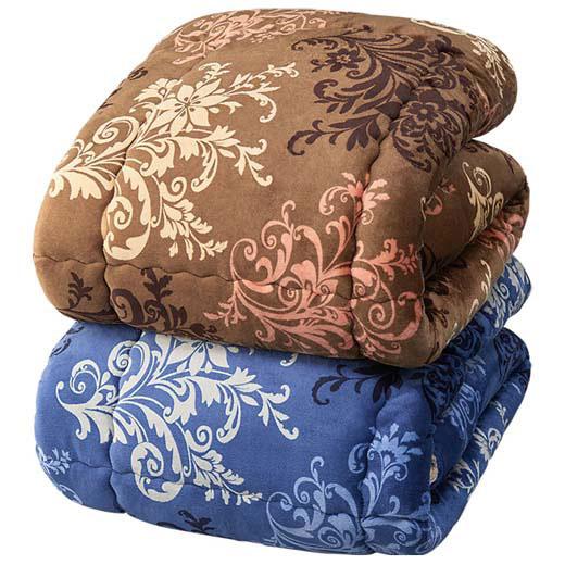 吸湿発熱・消臭機能わた「サンバーナー(R)」使用毛布地掛布団/インテリア・寝具・収納/寝具/掛け布団 ベルーナ インテリア ノアン