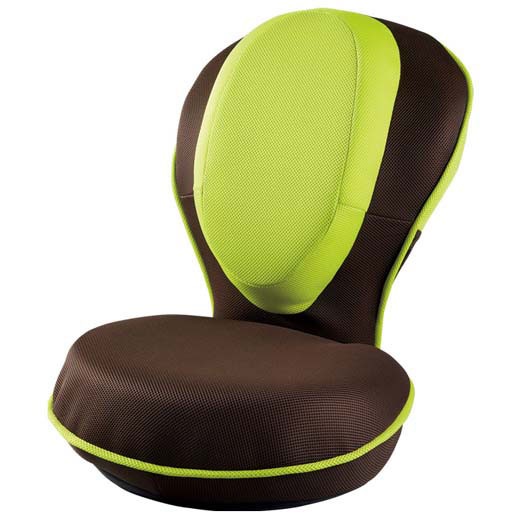 背筋を思いっきり伸ばせます♪背筋がグーン 骨盤補整機能 座いす 座イス 椅子 チェアー ストレッチ コンパクト おしゃれ テレワーク 一人暮らし【選べる3色】背筋がGUUUN美姿勢座椅子/イス・チェア 座椅子ベルーナ