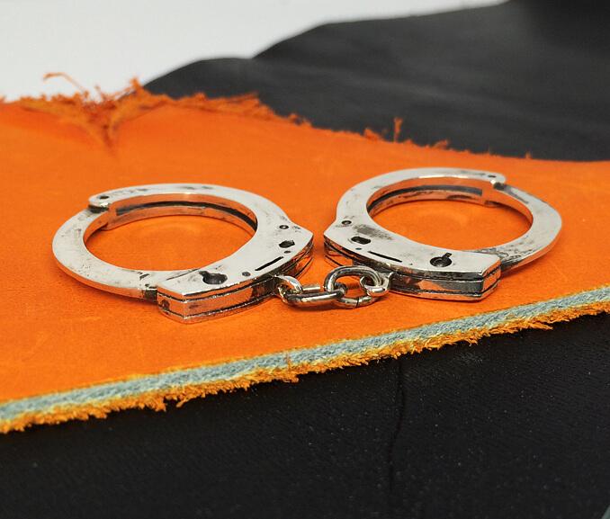 リアル手錠2連リング 3~30号 0.5号刻み可能 ごつい シルバーリング 指輪 レディース 大きいサイズ メンズ 個性的 シルバーアクセサリー 男性 女性 プレゼント クリスマス 誕生日 記念日 アクセサリー noas ノアズ