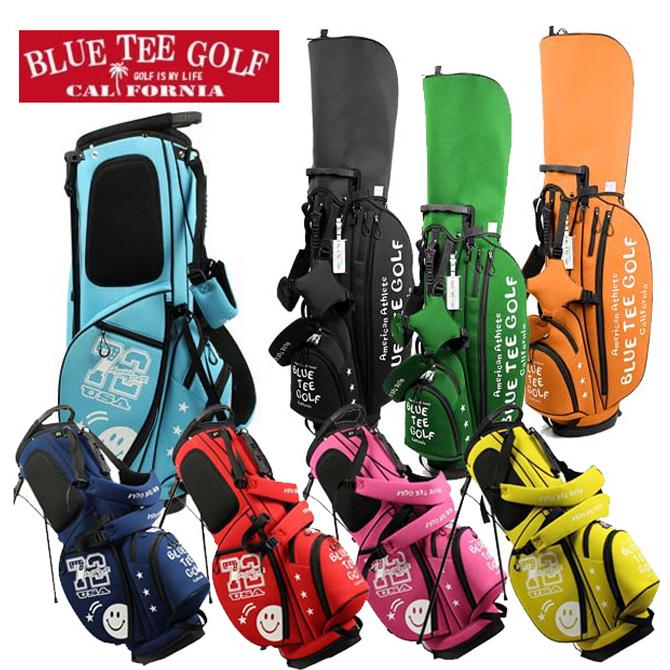 店内全品送料無料 キャディバッグ スタンド 軽量2.5kg ブルーティーゴルフ ゴルフバッグ スタンドバッグ CB-003