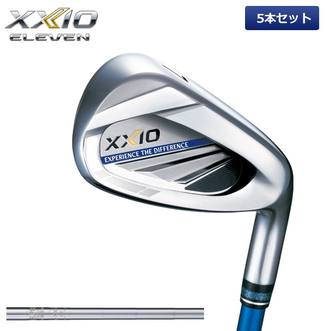 店内全品送料無料 ゼクシオ XXIO 11 アイアンセット 5本 ゼクシオイレブン N.S.PRO 860 DST ダンロップ メーカー取り寄せ品 ゴルフ