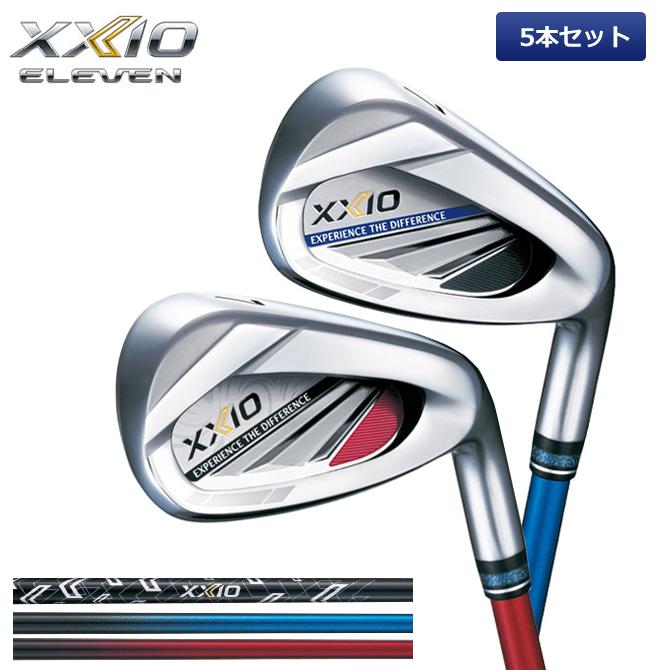 ゼクシオ XXIO 11 アイアンセット 5本 ゼクシオイレブン アイアン MP1100 ゴルフ カーボンシャフト ダンロップ ゴルフ