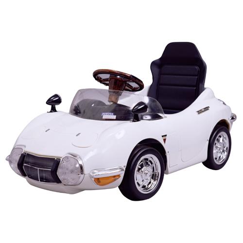 【ペダルカー】TOYOTA 2000GT ホワイト TGT-NW 子供用 キッズ 車 ペダル 子供 プレゼント 足こぎ おもちゃ