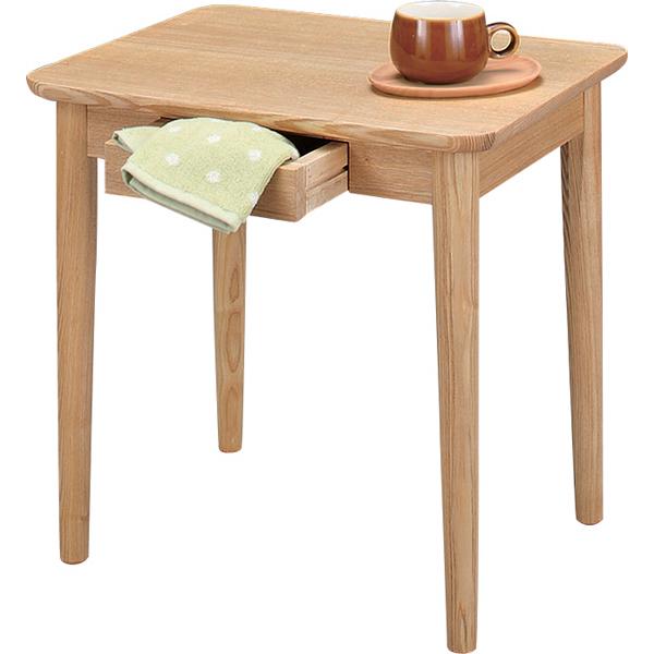 木製 ミニテーブル 幅50 奥行き40 【送料無料】 サイドテーブル 北欧 引き出し付き 小さいデスク 小さいテーブル 北欧 木製 激安 安い 引き出し 収納