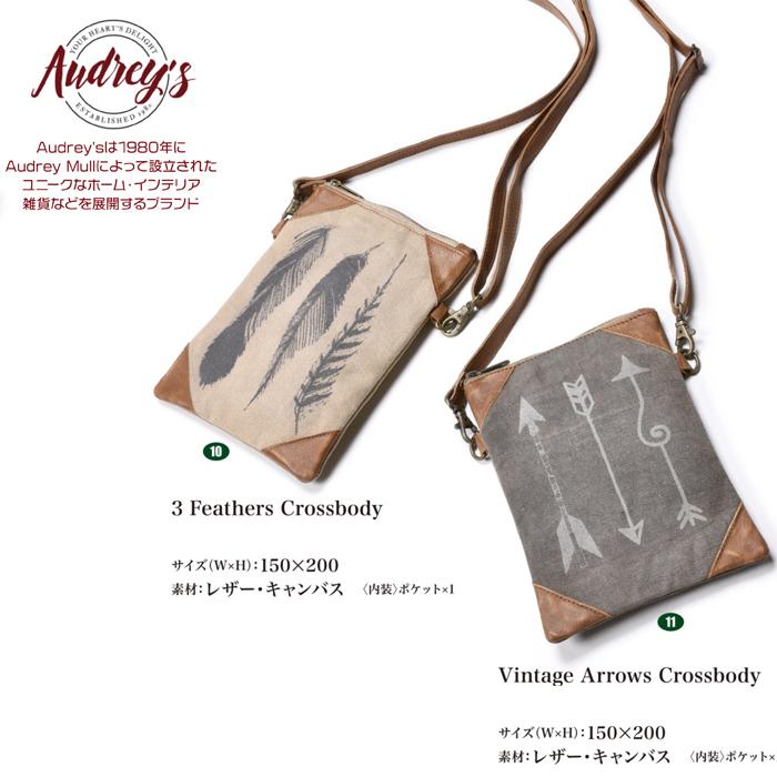メーカー再生品 鞄 バッグ ショルダーバッグ サコッシュ 人気 アメカジ クロスボディ Audrey's バイカー 返品不可
