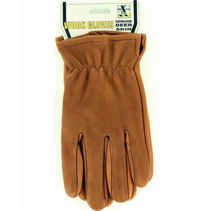 品質保証 HD 人気上昇中 XTREME TAN SUEDE DEERSKIN GLOVES ☆ 送料無料 ディアスキングローブ ブラウン Xtreme Work エイチディーエクストリームワーク メンズ MF Skin Dear 皮手袋 Gloves Western 返品不可