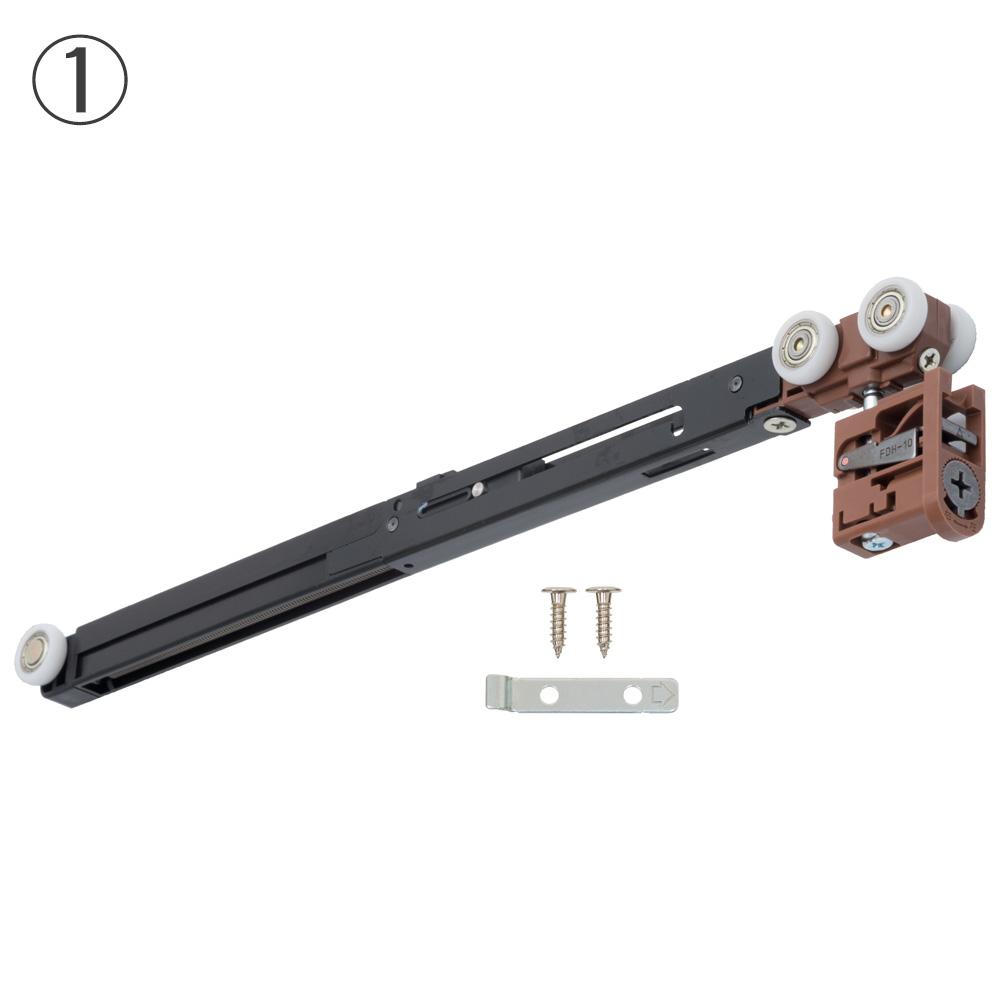 内装引戸 上吊り用クローザ機能付き吊り車 アトリア~ビノイエ_2014年10月~現行 P711
