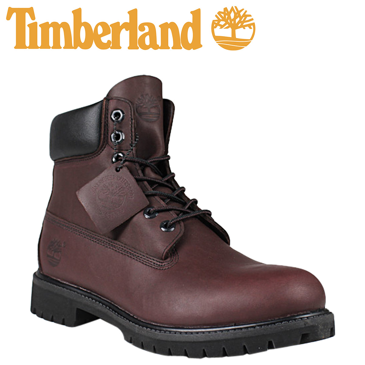 049f286eb23 Timberland Timberland 6 inch premium waterproof boots 6-INCH PREMIUM  WATERPROOF BOOT #71595 dark red leather shoes work boots mens